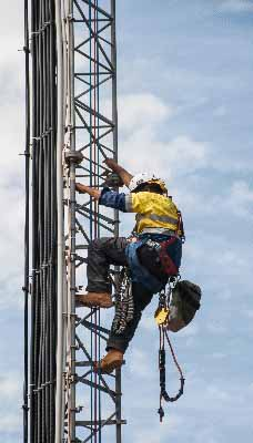 fall protection and harnesses