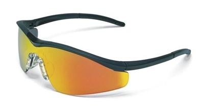 crews t311r triwear metal anti fog safety glasses fire lens metal frame