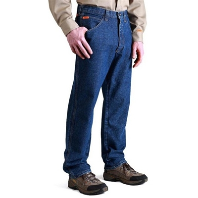 Riggs By Wrangler Fr3w050 Flame Resistant Relaxed Fit Jean